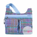 Shoulder Bag PRARIE - Madras Print