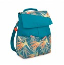 Backpack PELVIC Birds of paradise print - PILATES