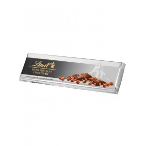 Lindt Tablet Silver Dark Hazelnut 300g